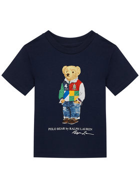 Polo Ralph Lauren Polo Ralph Lauren Marškinėliai Ss Cn 322838244 Tamsiai mėlyna Regular Fit