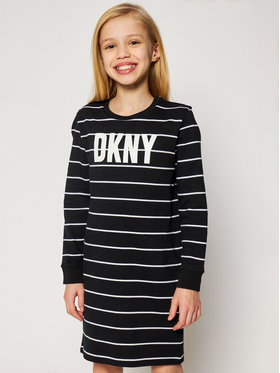 DKNY DKNY Hétköznapi ruha D32757 S Fekete Regular Fit