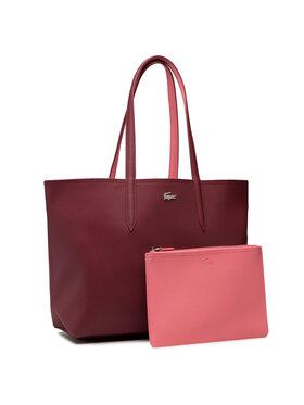 Lacoste Lacoste Torebka Shopping Bag NF2142AA Różowy