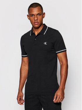 Calvin Klein Jeans Calvin Klein Jeans Pólóing J30J315603 Fekete Slim Fit