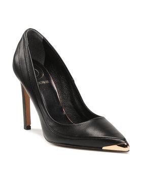 Baldowski Baldowski Pantofi cu toc subțire D03629-1451-001 Negru