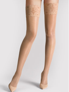 Wolford Wolford Καλτσοδέτες Satin Touch 21223 Μπεζ