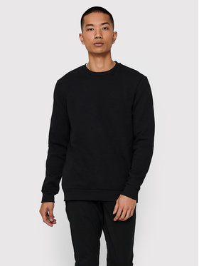 ONLY & SONS ONLY & SONS Bluza Ceres Life Crew 22018683 Czarny Regular Fit