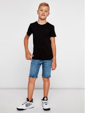 Tommy Hilfiger Tommy Hilfiger T-Shirt KB0KB04140 D Černá Regular Fit