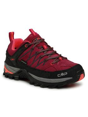 CMP CMP Trekkingi Rigel Low Wmn Trekking Shoes Wp 3Q13246 Różowy