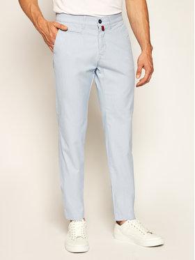 Pierre Cardin Pierre Cardin Spodnie materiałowe 33747/4785 Niebieski Modern Fit