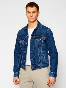 Pepe Jeans Pepe Jeans Jeansová bunda Pinner PM400908 Tmavomodrá Regular Fit