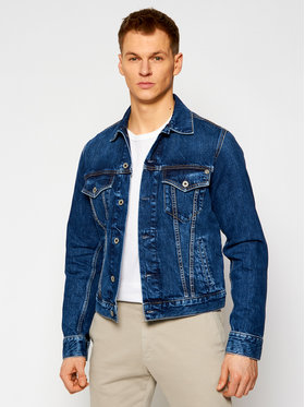Pepe Jeans Pepe Jeans Τζιν μπουφάν GYMDIGO Pinner PM400908 Σκούρο μπλε Regular Fit