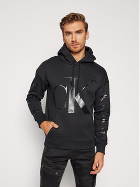 Calvin Klein Jeans Calvin Klein Jeans Суитшърт Fashion J30J316517 Черен Regular Fit