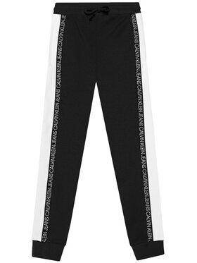 Calvin Klein Jeans Calvin Klein Jeans Teplákové kalhoty Colour Block IB0IB00866 Černá Regular Fit