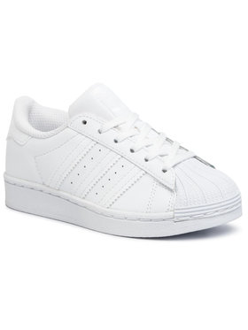 adidas adidas Batai Superstar C EF5395 Balta