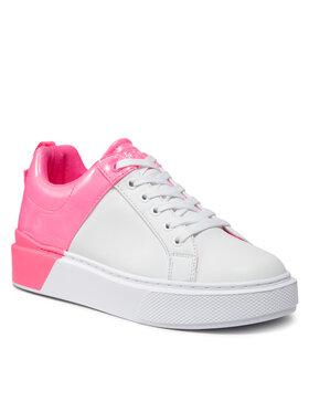 Guess Guess Sneakersy FL8HRL LEA12 Biela