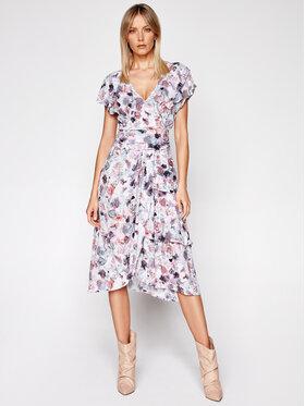 IRO IRO Sukienka letnia Plisca A0145 Kolorowy Regular Fit