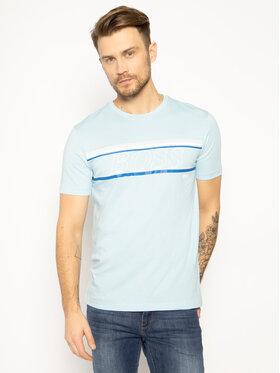 Boss Boss T-shirt Teeap 50424056 Bleu Regular Fit
