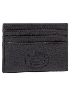 Lacoste Lacoste Pouzdro na kreditní karty Cc Holder NF3404NL Černá