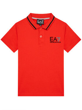 EA7 Emporio Armani EA7 Emporio Armani Polo 3KBF51 BJ02Z 1485 Rouge Regular Fit