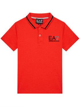 EA7 Emporio Armani EA7 Emporio Armani Tricou polo 3KBF51 BJ02Z 1485 Roșu Regular Fit
