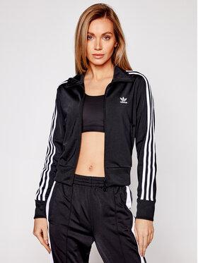 adidas adidas Bluză Firebird GN2817 Negru Regular Fit