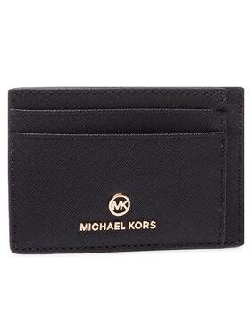 MICHAEL Michael Kors MICHAEL Michael Kors Kreditinių kortelių dėklas Jet Set Charm 34T0GT9D5L Juoda