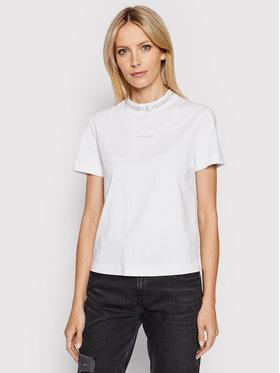 Calvin Klein Jeans Calvin Klein Jeans T-shirt J20J215500 Bijela Regular Fit
