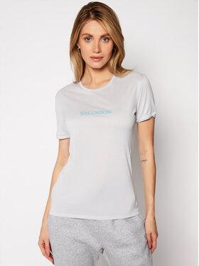 Salomon Salomon T-Shirt Comet Classic LC1215900 Szary Active Fit
