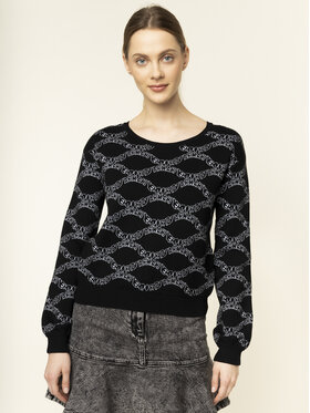 Emporio Armani Emporio Armani Sweter 3H2MT4 2M15Z 0999 Czarny Regular Fit