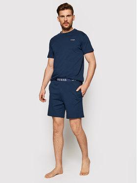 Guess Guess Pižama U1GX00 JR018 Tamsiai mėlyna Regular Fit