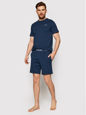 Guess Guess Pyjama U1GX00 JR018 Bleu marine Regular Fit