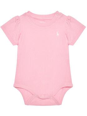 Lauren Ralph Lauren Lauren Ralph Lauren Body dziecięce Tshirt Bdyst 310833421004 Różowy