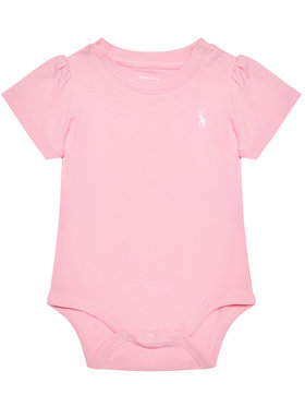 Lauren Ralph Lauren Lauren Ralph Lauren Detské body Tshirt Bdyst 310833421004 Ružová