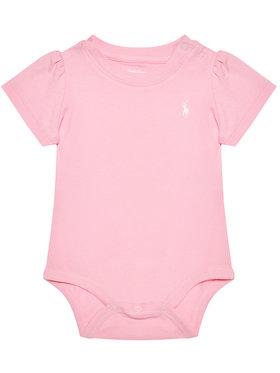 Lauren Ralph Lauren Lauren Ralph Lauren Κορμάκι παιδικό Tshirt Bdyst 310833421004 Ροζ