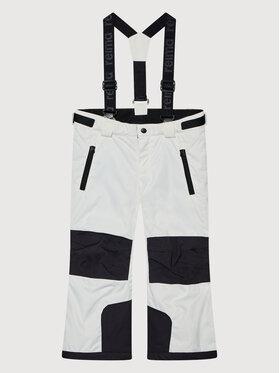 Reima Reima Lyžařské kalhoty Liukuja 532242 Bílá Regular Fit