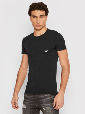Emporio Armani Underwear Emporio Armani Underwear Tricou 111035 1P725 00020 Negru Regular Fit