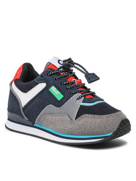 United Colors Of Benetton United Colors Of Benetton Sneakersy Snug Mx BTK123010 Granatowy