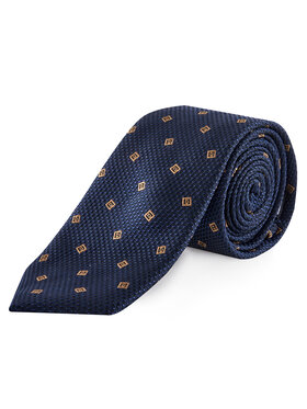 Tommy Hilfiger Tailored Tommy Hilfiger Tailored Kaklaraištis Silk Blend Design TT0TT07366 Tamsiai mėlyna