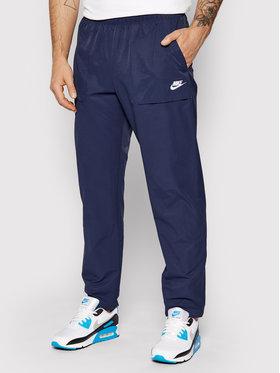 Nike Nike Pantaloni di tessuto City Edition CZ9927 Blu scuro Standard Fit