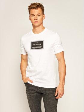 Trussardi Jeans Trussardi Jeans T-Shirt 52T00380 Bílá Regular Fit