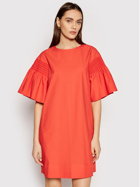 Weekend Max Mara Weekend Max Mara Rochie de zi Pacos 52212211 Portocaliu Regular Fit