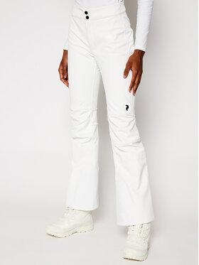 Peak Performance Peak Performance Spodnie narciarskie StretchP G50169018 Biały Slim Fit
