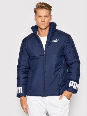 Puma Puma Vatovaná bunda Essential 587689 Modrá Regular Fit