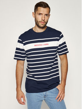 DC DC T-Shirt Laytonville EDYKT03485 Granatowy Regular Fit