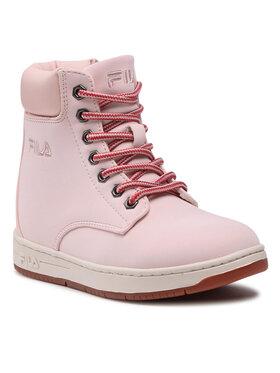 Fila Fila Ορειβατικά παπούτσια Bohemian Mid Jr 1011087.70D Ροζ