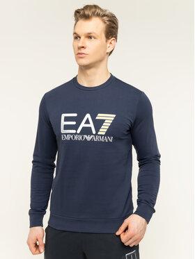 EA7 Emporio Armani EA7 Emporio Armani Felpa 3HPM22 PJ05Z 1554 Blu scuro Regular Fit