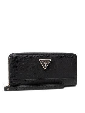 Guess Guess Великий жіночий гаманець Noelle Slg SWZG78 79460 Чорний