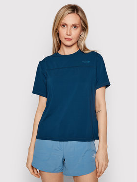The North Face The North Face Koszulka techniczna Back Tee NF0A3LC9 Granatowy Regular Fit