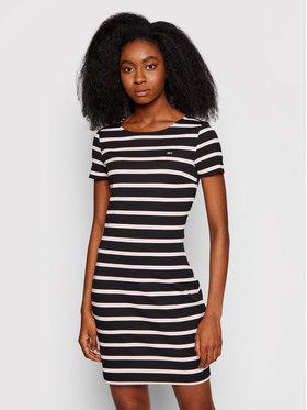 Tommy Jeans Tommy Jeans Každodenní šaty Tjw Striped Bodycon DW0DW10206 Černá Regular Fit