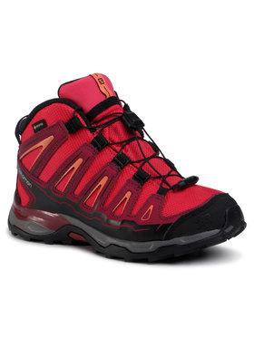 Salomon Salomon Turistiniai batai X-Ultra MId Gtx J GORE-TEX 398651 12 W0 Raudona