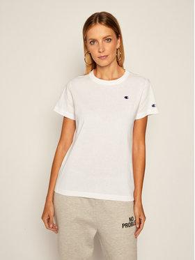 Champion Champion T-shirt Crewneck 113360 Blanc Regular Fit
