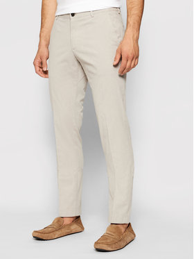 Joop! Joop! Kalhoty z materiálu 17 JT-24Hanc-W 30025403 Béžová Slim Fit
