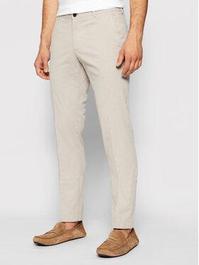 Joop! Joop! Spodnie materiałowe 17 JT-24Hanc-W 30025403 Beżowy Slim Fit
